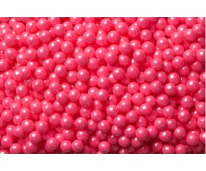 """Shimmer Bright Pink Pearls 1/4"""" 6 oz"""