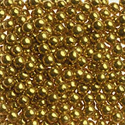 Gold Dragees #2 (5mm) 3 oz