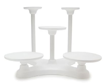 5 Tier Single Use Cake Stand Each