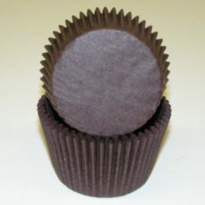 """Baking Cup Brown 2"""" B x 1 1/4"""" W Approx 100"""
