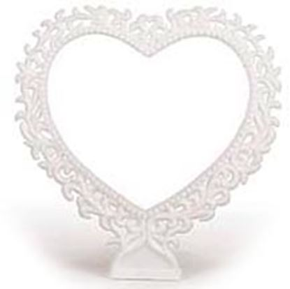 """7"""" Lacy Hearts Each"""