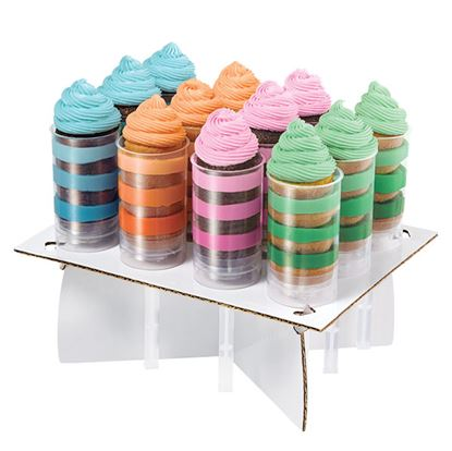Treat Pop Flat Stand Holds 12 Each