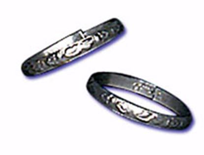 """3/4"""" Silver Rings 144 count"""