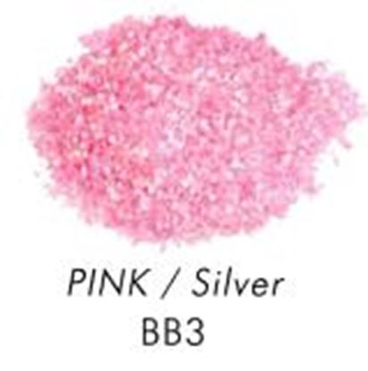 Bakery Bling Pink with Silver Glitter 3 oz