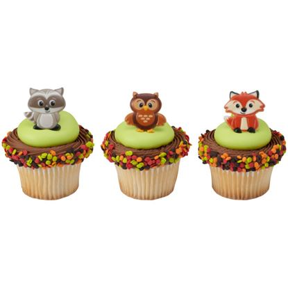 Woodland Animal Rings 12 count