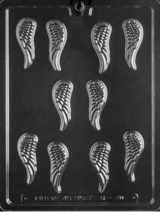Small Angel Wings Mold 10 cavity Each 2 oz